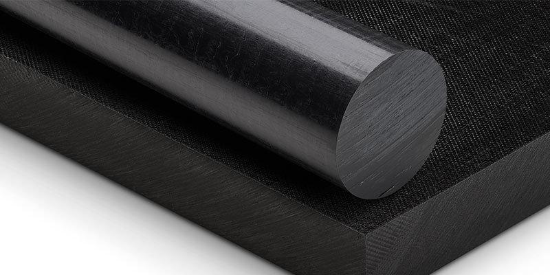 pa polyamid çubuk siyah